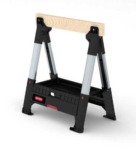 חמור עבודה / שולחן עבודה / סוס עבודה מתכוונן (Lumberjack) כתר KETER