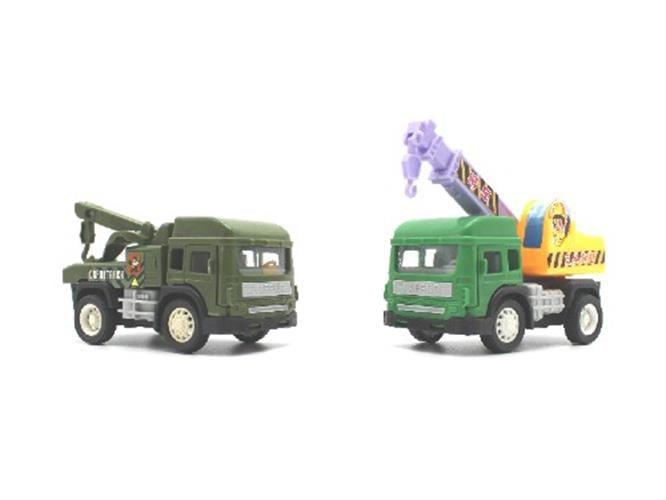 זוג משאיות לילדים