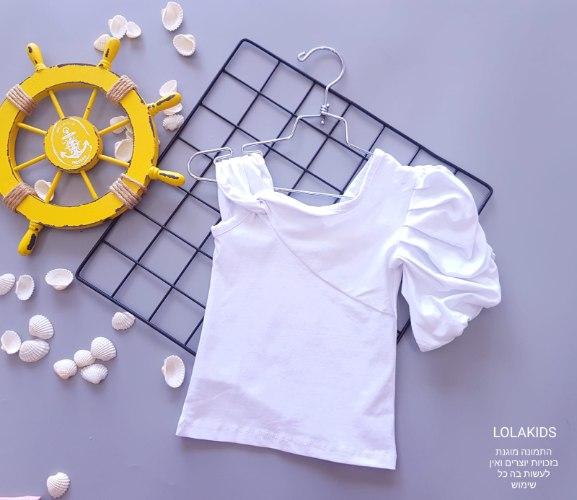 חולצת לייקרה מעוצבת דגם 9626/2