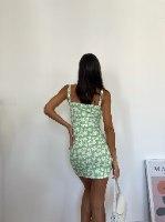 שמלת סלינה פרחונית