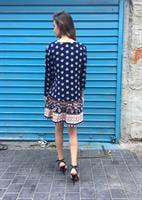 שמלת אלינה בורדורה כחול