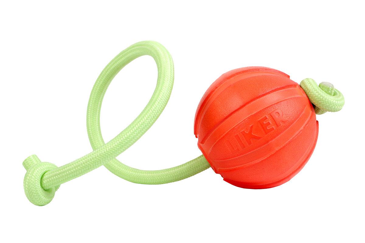 LIKER LUMI 7 כדור עם חוט זוהר לכלבים מגזעים בינוניים