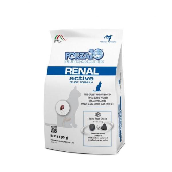 מזון רפואי לחתולים פורזה אקטיב RENAL מ 454 גרם