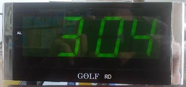 שעון מעורר חשמלי גולף GOLF ירוק