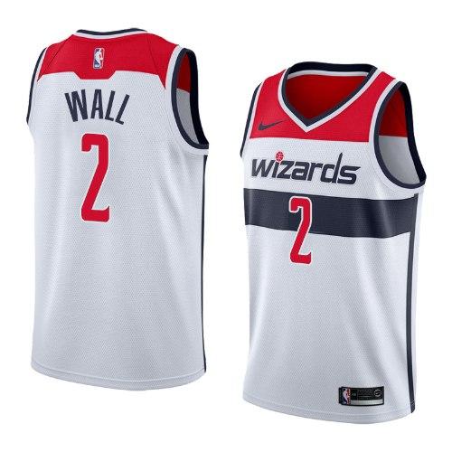 גופיית משחק NBA וושינגטון ויזארדס מהדורת האגודה - ג'ון וול
