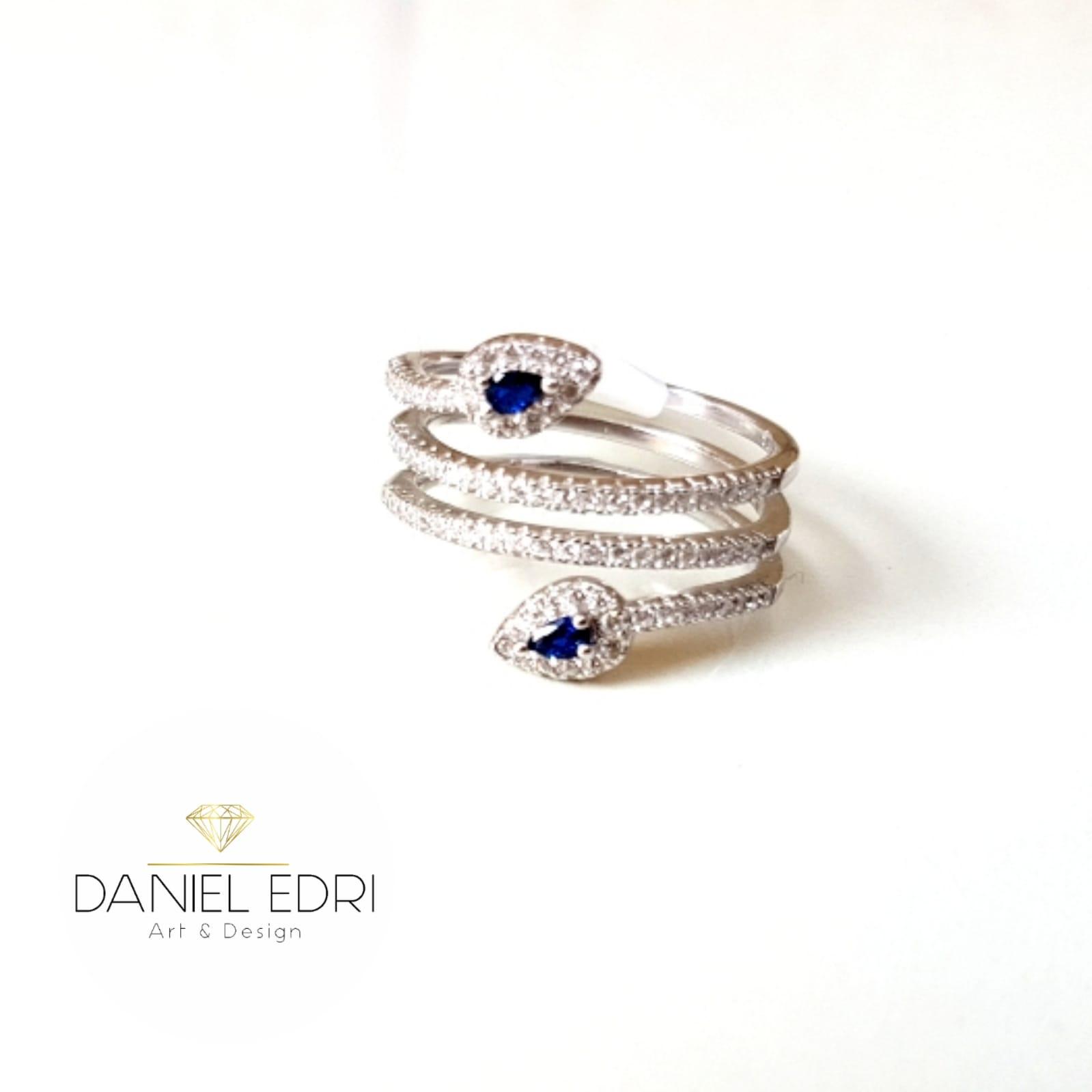 טבעת נחש כחול