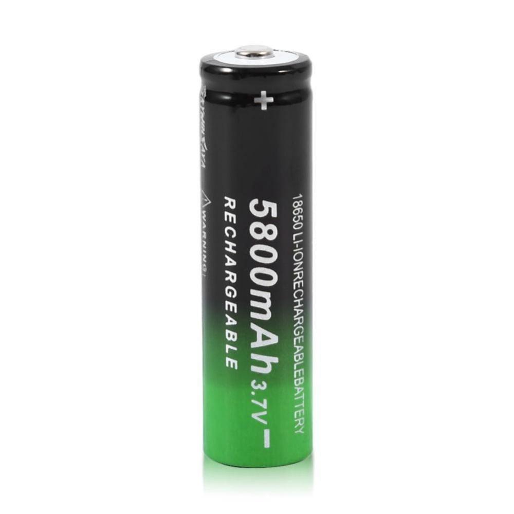 סוללה נטענת איכותית 3.7v 5800mAh 18650 Li-ion