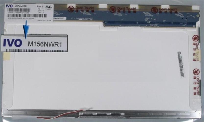 החלפת מסך למחשב נייד לנובו Lenovo G555 IVO 15.6 1366 x 768 CCFL מסך למחשב נייד לנובו