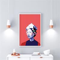 טאשי -הדפס ציור