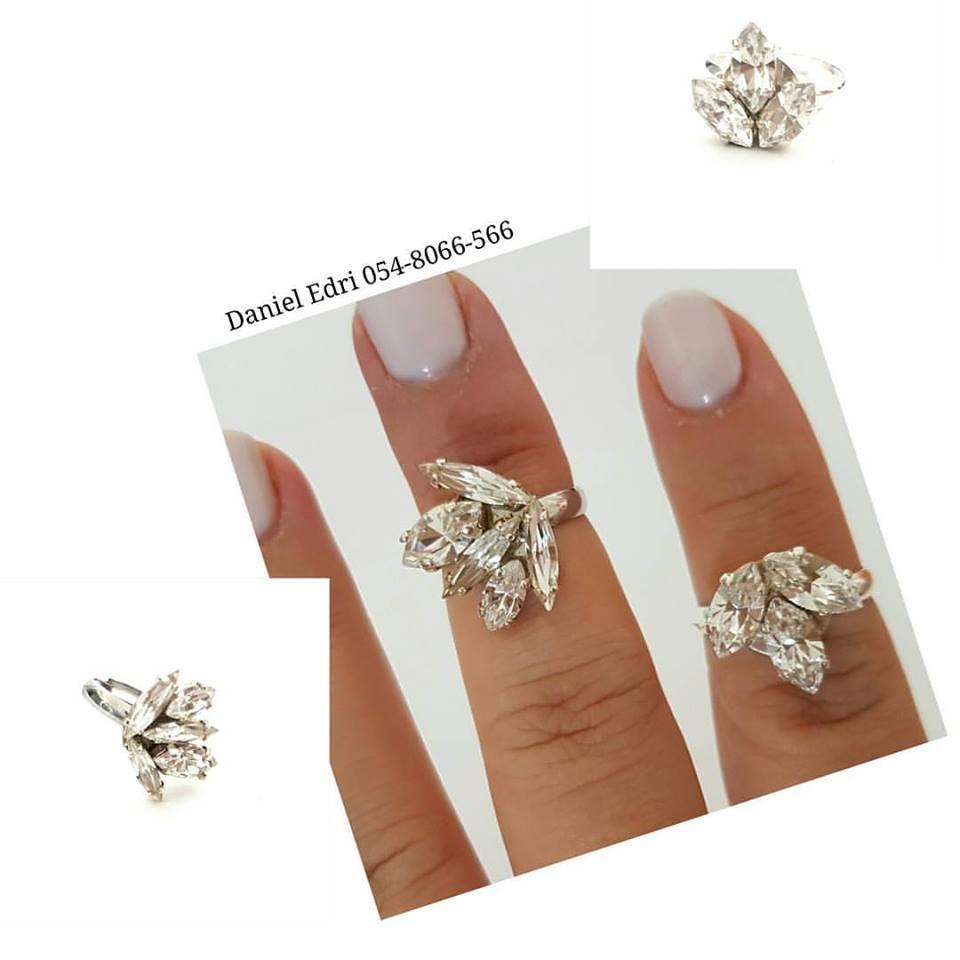 טבעת א-סימטרית קריסטלים