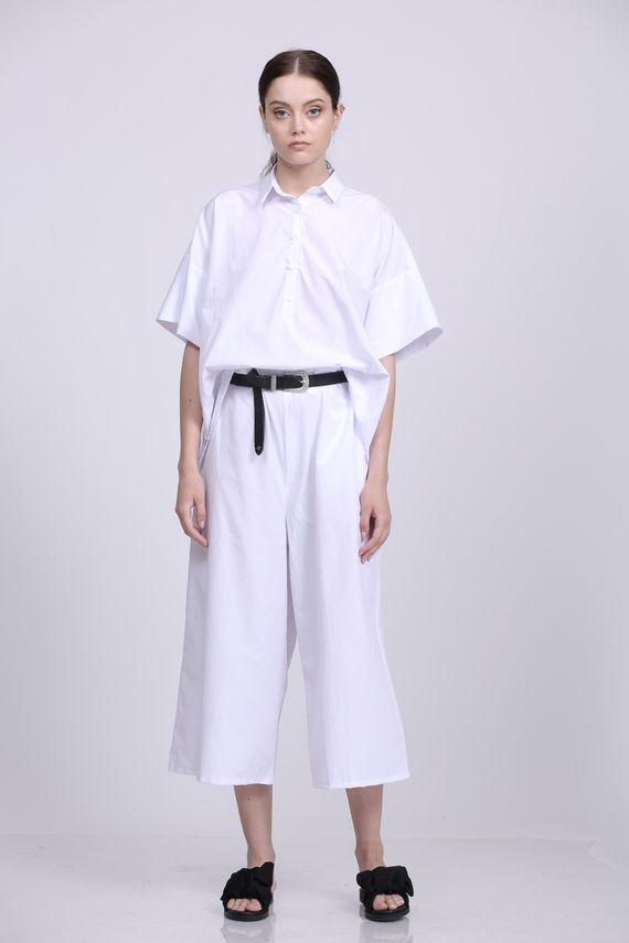 מכנס הלנה לבן