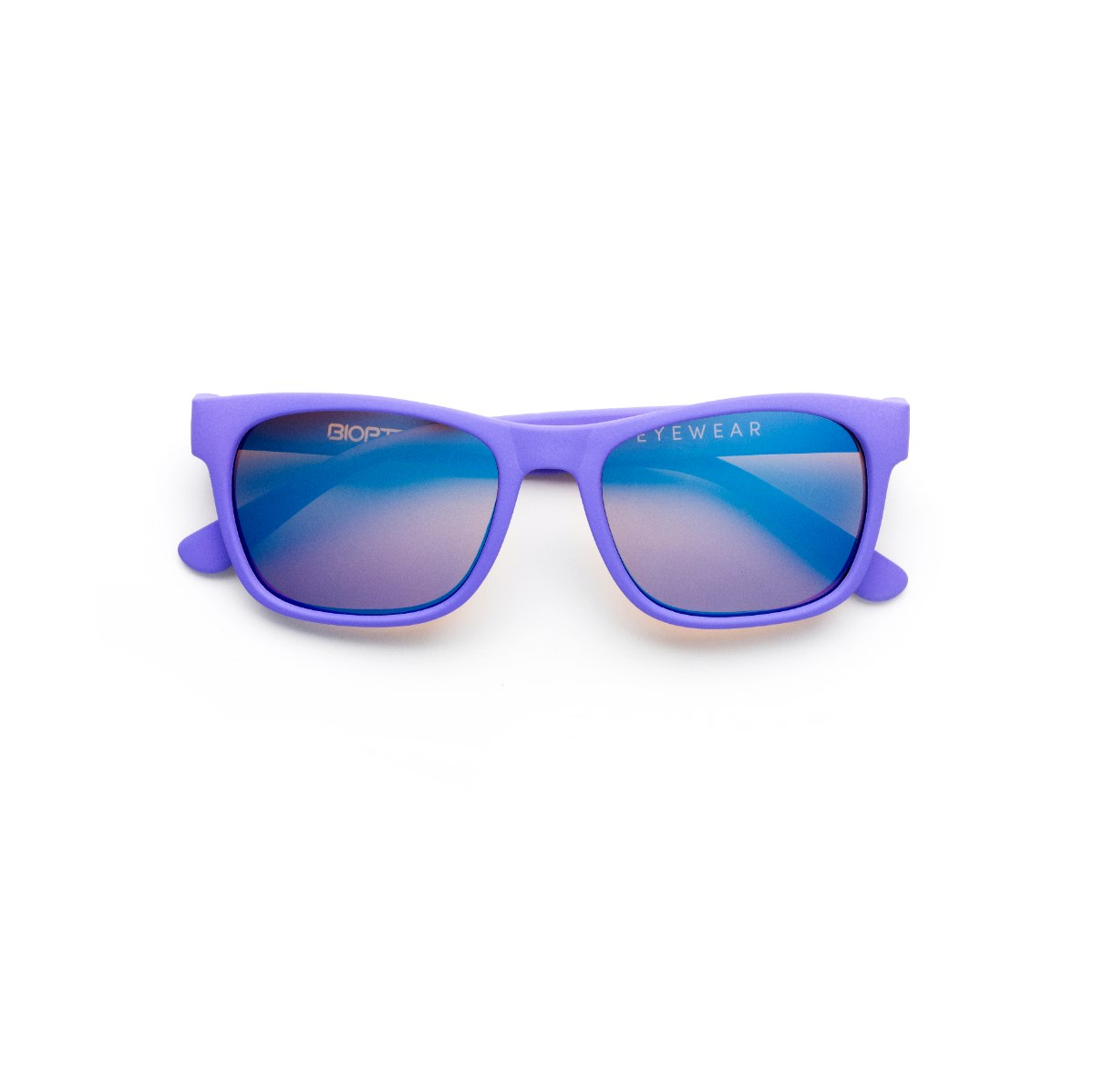 משקפי היפרלייט (נגד קרינה) לילדים, דגם THE-0402VT MRBU מסגרת סגולה