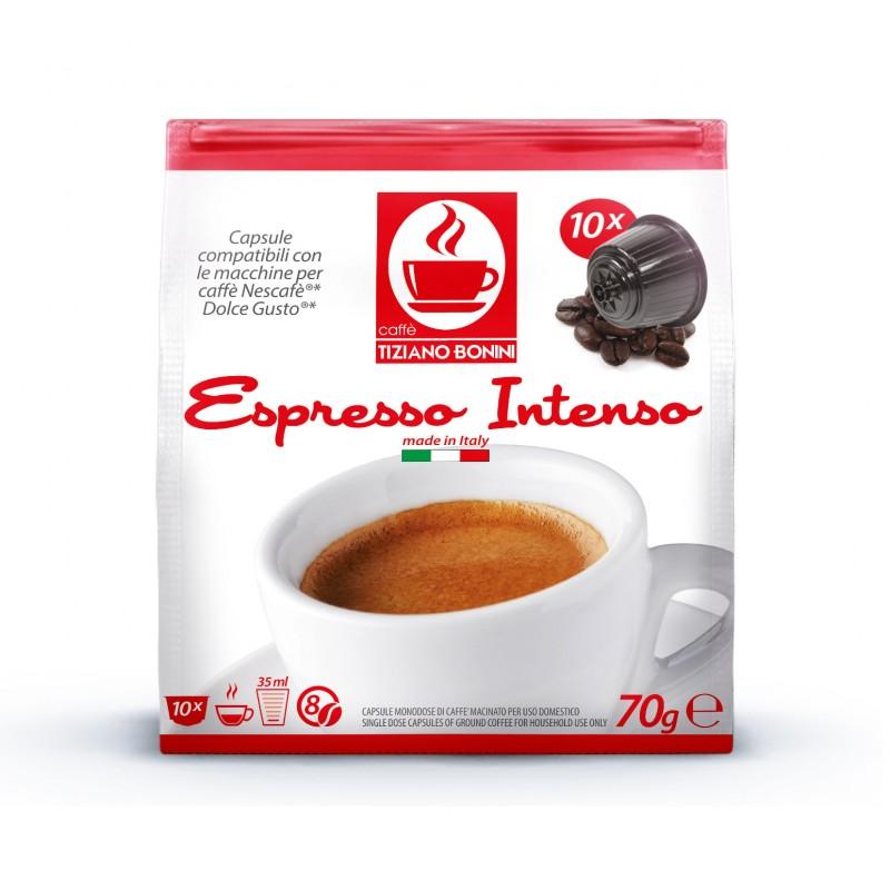 16 קפסולות קפה בוניני INTENSO תואם דולצ'ה גוסטו - חוזק 8