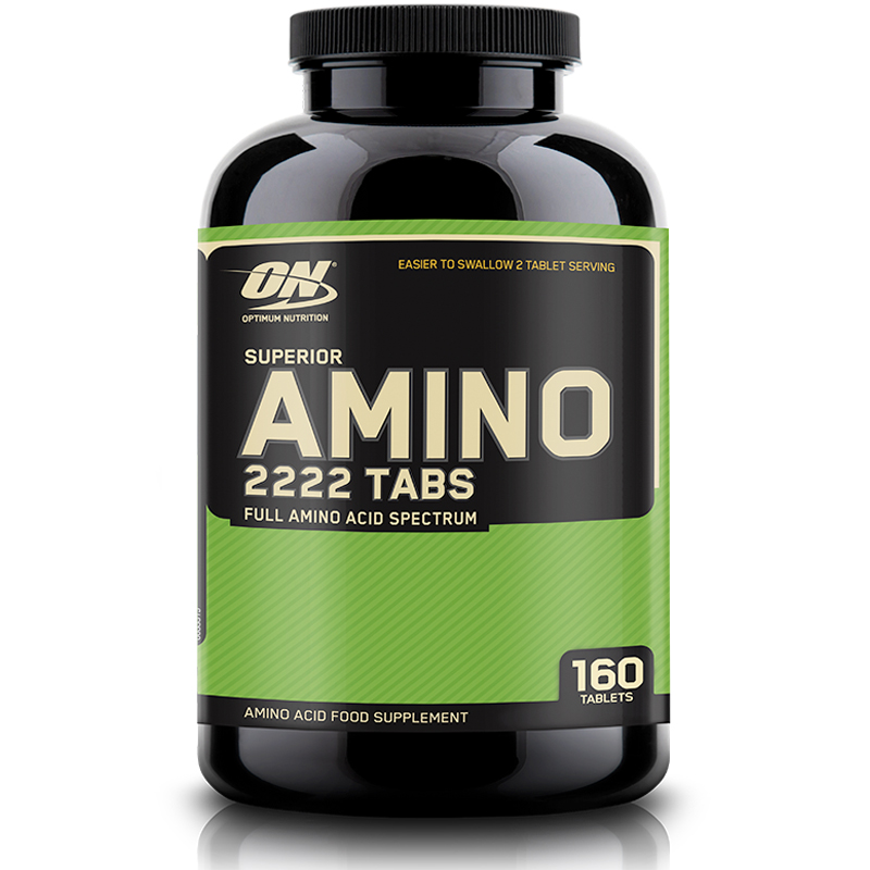 חומצות אמינו אופטימום נוטרישן 160 טבליות Optimum Nutrition Amino תוסף תזונה על בסיס חומצות אמינו.