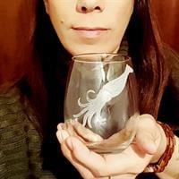 כוס יין ללא רגל | דיונון חמוד