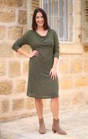 שמלת מאיה ירוקה
