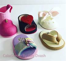 SET OF BABY SHOE TEMPLATES