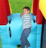 מתקן קפיצה הרפתקאות הפי הופ - 9160 -   Adventure Combo Bouncer Happy Hop