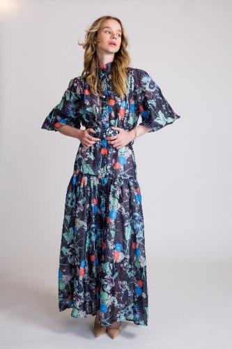 שמלת מקסי ריאנה כחול