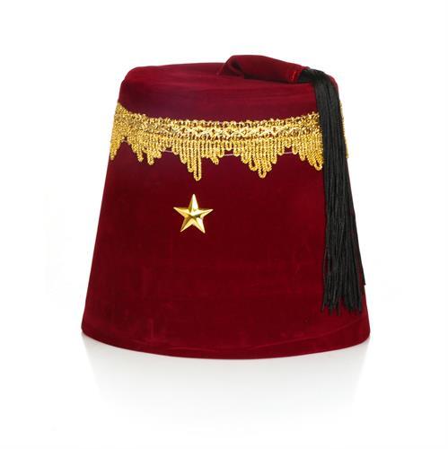 כובע תרבוש קטיפה