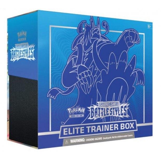פוקימון מארז מאמנים - Battle styles Elite Trainer Box