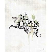 ציור של המילה אהבה