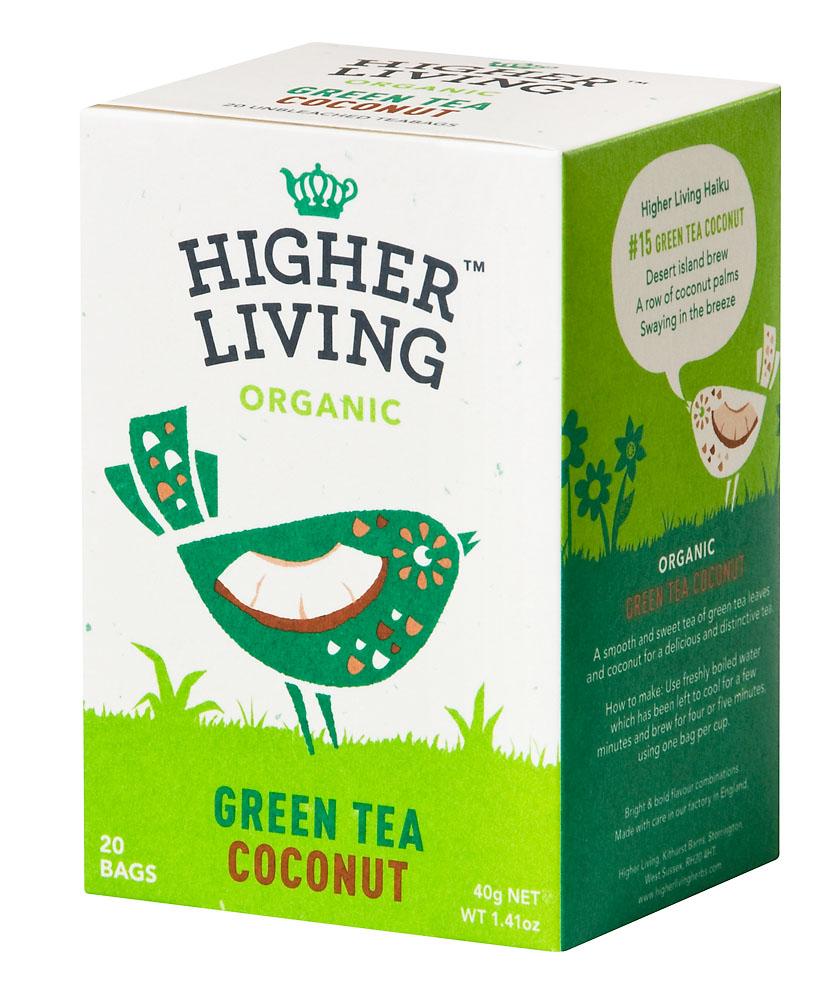 תה ירוק קוקוס