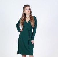 שמלת אלונה פליז חלק