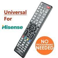 שלט רחוק אוניברסלי לטלויזיות-hisense-הייסנס