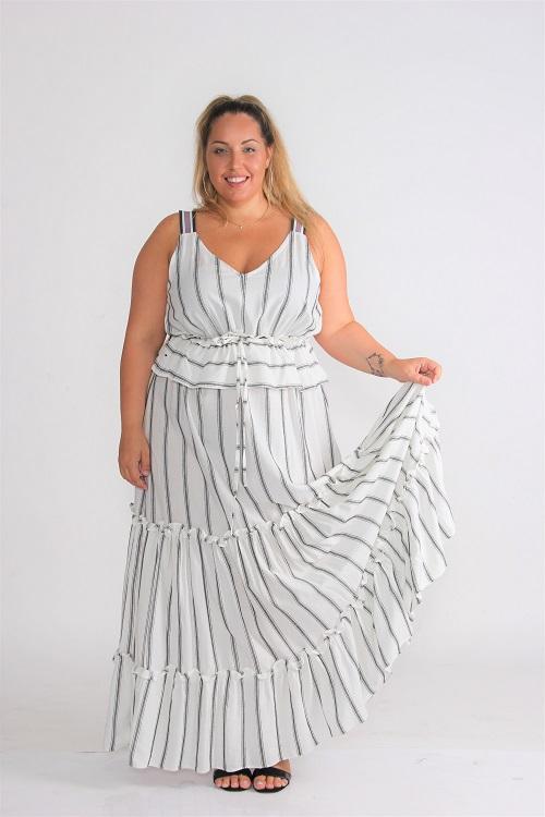 שמלת אלאדין לבנה