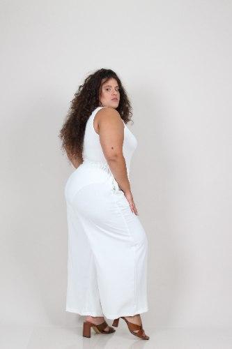 מכנסיי בייס לבן