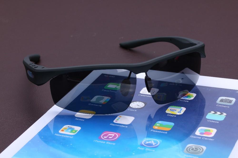 משקפי שמש פולורייזד bluetooth סטריאו חיבור לסלולרי