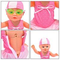 הבובה השוחה swimming doll