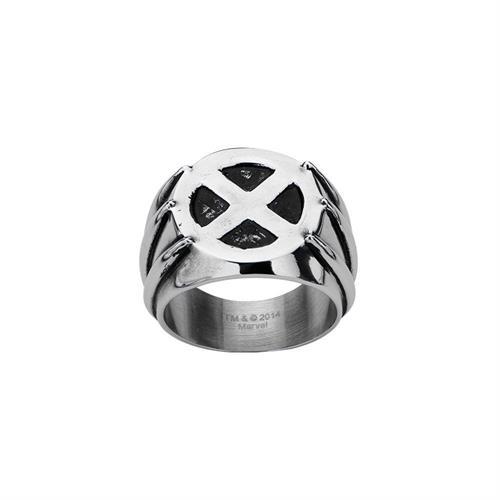 טבעת וולורין פלדת אל-חלד MARVEL