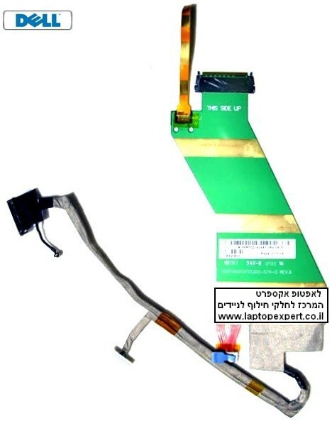 כבל מסך למחשב נייד דל DELL 1500 1520 1521 LCD CABLE PM501 0PM501 010107J00
