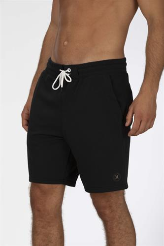 HURLEY DRI-FIT UNIVERSAL FLEECE SHORT BLK