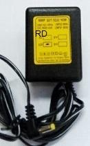 שנאי חשמל  4.5V DC 600MA (+)