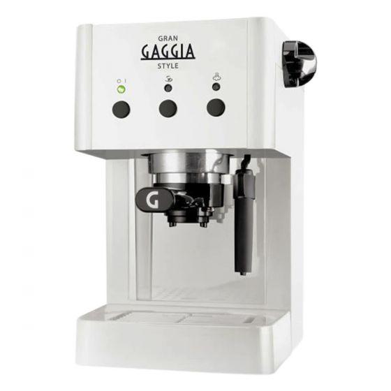 מכונת קפה Gran Gaggia Style White