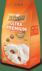 חול לחתול princess 6 ליטר בריח הדרים