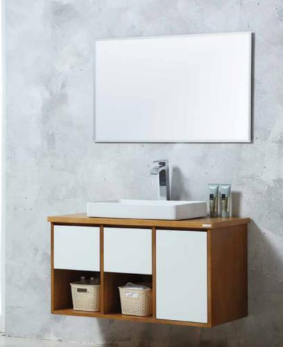 ארון אמבטיה תלוי קלאסי דגם מילאנו MILANO