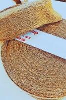 חוטי טריקו פרוסים צבע נחושת מוזהב, חוט טריקו זהב, חוטי טריקו פרוסים, החוטים של ריבי,  טריקו לסריגת תיקים צבע נחושת זהב, חוטי טריקו פרוסים לסריגת שטיחים, סריגת סלסלות וסריגת תיקיםף חוט טריקו זהב,
