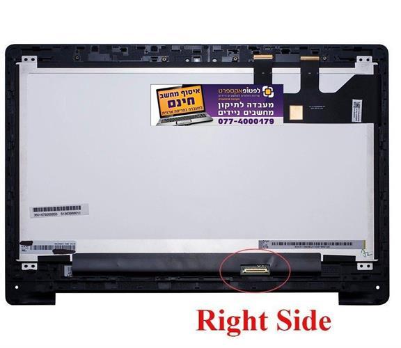 החלפת קיט מסך מגע למחשב אסוס Asus Flip 2-in-1 Q302L Q302LA with frame