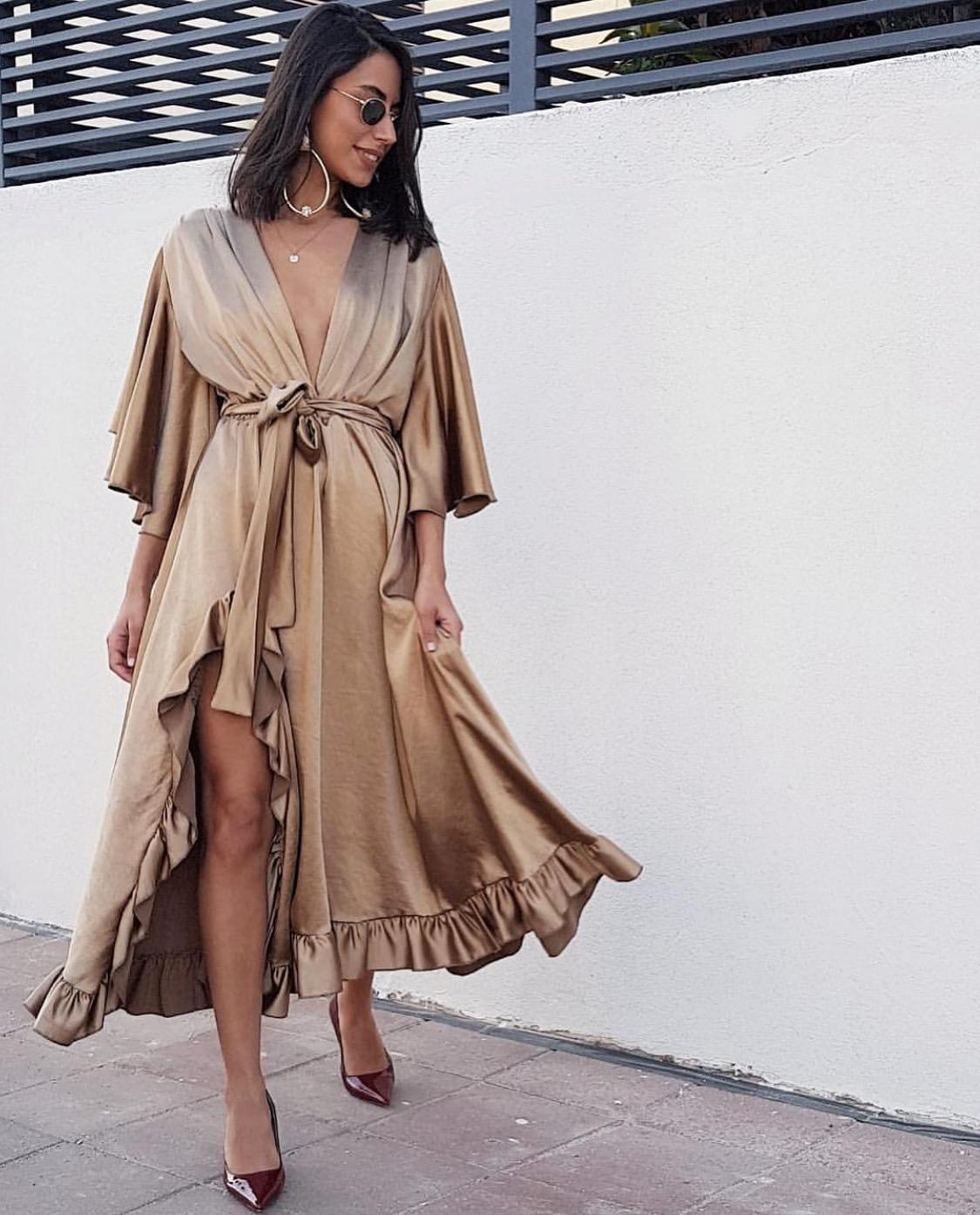 שמלת פנלופי - זהובה