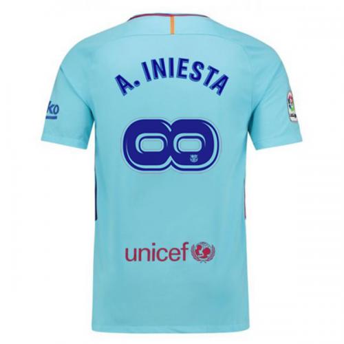 חולצת משחק ברצלונה חוץ - אינייסטה infinity