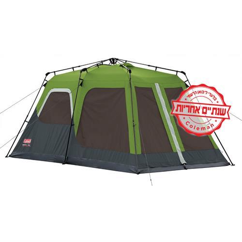 אוהל בן רגע ל 8 אנשים דגם COLEMAN INSTANT