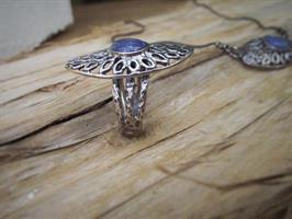טבעת עין לשמירה מהכחול כחול הזה