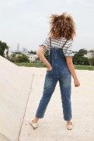 אוברול ג'ינס כחול