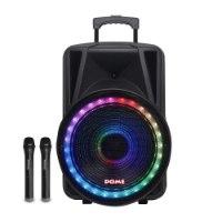 בידורית אלחוטית 15 אינץ' דגם Dome DM-3015 - צבע שחור 2500W