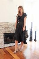 שמלת ערב הלנה שחורה