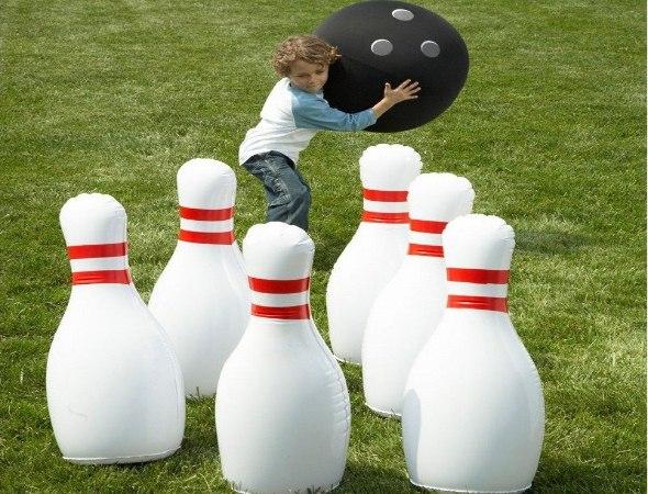 משחק באולינג מתנפח